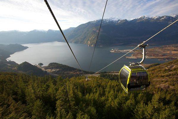 Sea-to-sky Gondola in Squamish BC