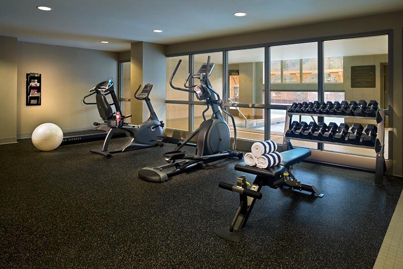 Fitness Centre at Executive Suites Squamish