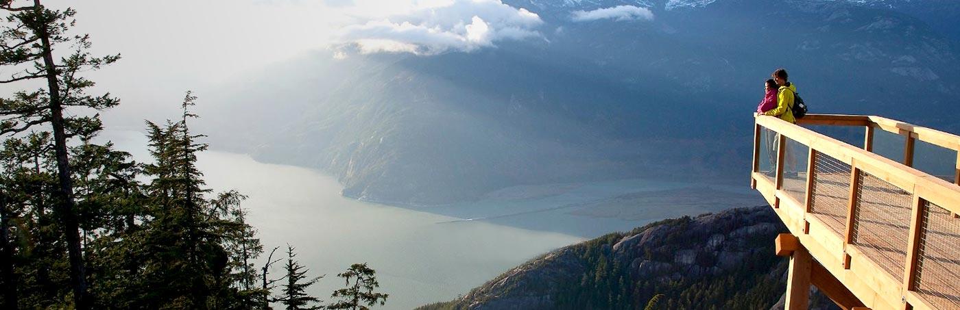 Sea to Sky Gondola in Squamish, BC