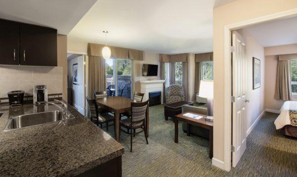 Hotel Suite at Executive Suites Hotel & Resort Squamish