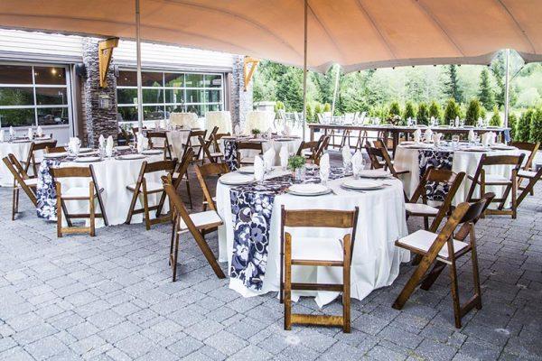 Wedding reception at Executive Suites Squamish