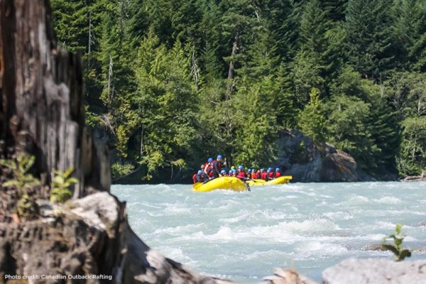Rafting in Squamish with Canadian Outback Rafting