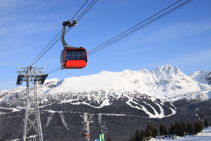 Gondola at Whistler Blackcomb Resort