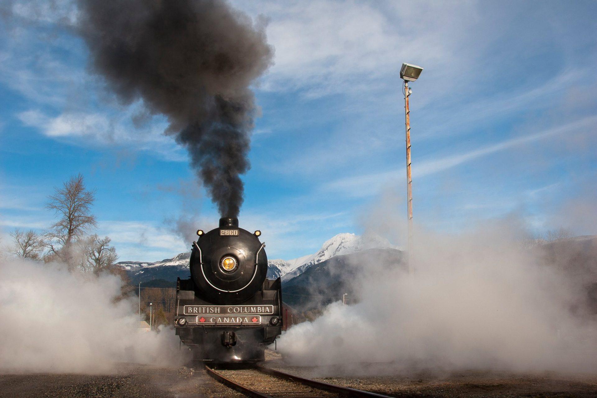 Railway in Squamish BC
